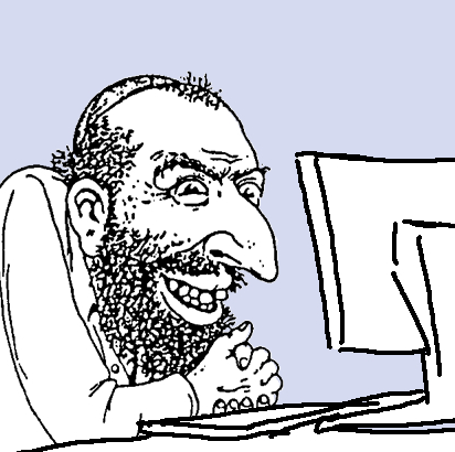 Jewish caricature at computer.png